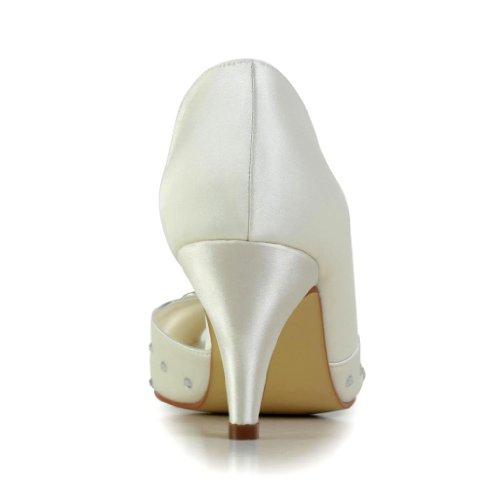 Jia Jia Wedding 594943 Scarpe Sposa Scarpe col tacco donna Beige