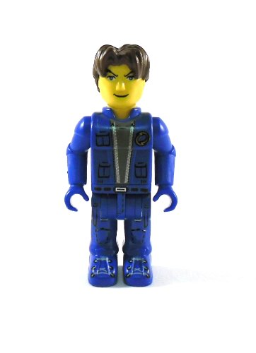 LEGO Jack Stone-Jack, groß (5,5cm)