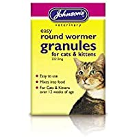 Johnsons prodotti veterinari Ltd Jvp Cat & Kitten Easy Wormer granuli
