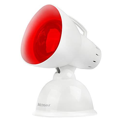 Medisana IR 100 Infrarot-Wärmelampe 100 Watt, Infrarotleuchte zur Verbesserung des Wohlbefindens, Wärmestrahler zur Enstpannung der Muskulatur