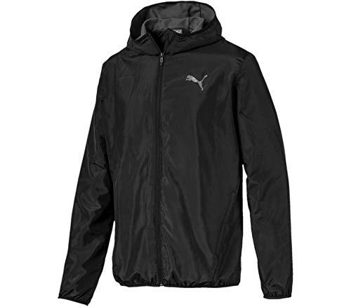PUMA Herren Essentials Streetstyle Windbreaker Trainingsjacke, Black, L