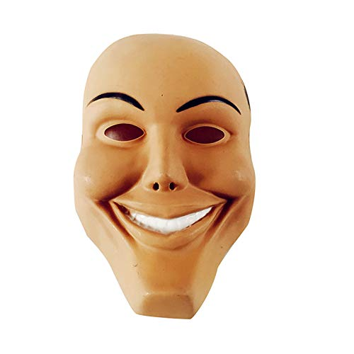 Westeng Maske Horror Human Clearance Plan Smiley-Maske Cosplay Kostüm Maske Halloween Karneval Party Maske Requisiten