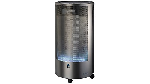 ROWI Gas-Heizgerät Blue Flame, silberfarben, 4200 Watt, PURE Premium++ -