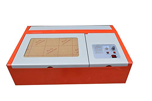Cortador de grabadora láser USB de 40 W de CO2, cortador de madera, para trabajo y manualidades