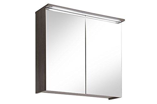 Komplettbad mit Spiegelschrank 6-teiligiges Badmöbelset - 3