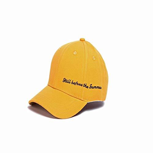 zhuzhuwen 2019 männliche Baseballmütze Sonnenschirm Hut geschwungene weibliche Kappe 1 verstellbar (Tupperware Für Cupcakes)