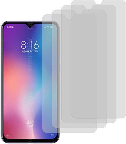 4X ANTIREFLEX matt Schutzfolie für Xiaomi Mi 9 Displayschutzfolie Bildschirmschutzfolie Schutzhülle Displayschutz Displayfolie Folie