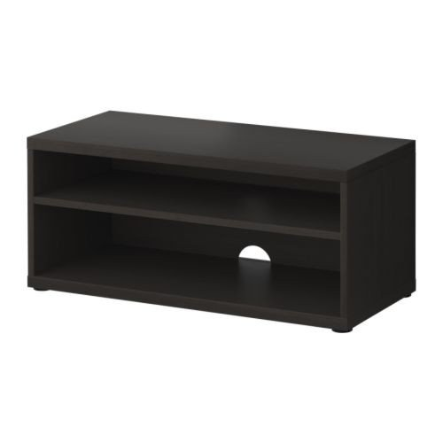 IKEA MOSJÖ TV-Bank in schwarzbraun; (90x40x38cm)
