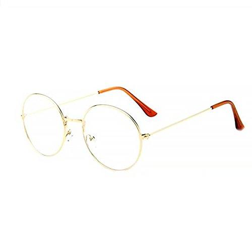 Isuper Brille, Klassische Brille Vintage Dekobrillen Unisex