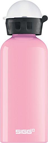 SIGG KBT Icecream Kinder Trinkflasche (0.4 L), schadstofffreie Kinderflasche mit auslaufsicherem Deckel, federleichte Trinkflasche aus Aluminium