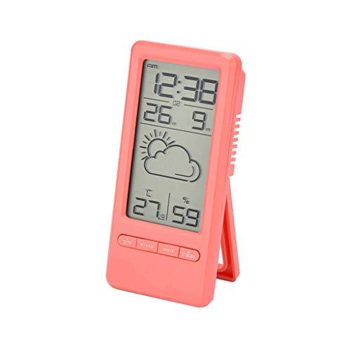 Mini pronóstico meteorológico Reloj Estación meteorológica Niños Reloj despertador Pronóstico...