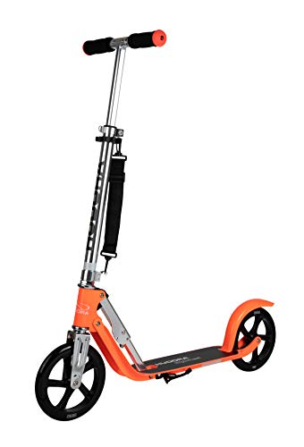 HUDORA Unisex Jugend Big Wheel 205 mm Scooter, neon, orange