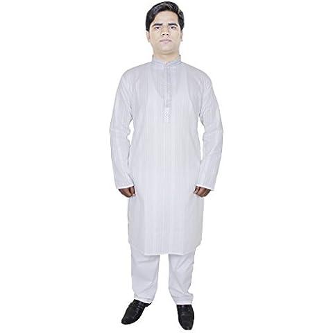 Shirt Abiti uomo puro cotone Kurta pigiama Pantalone etnica Kurta