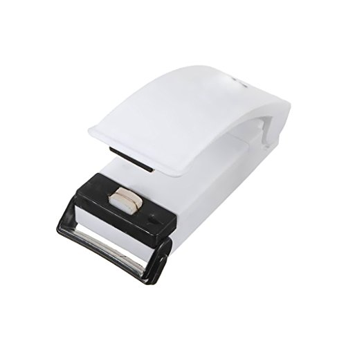 Generic New White Portable Sealing Tool Heat Mini Handheld Plastic Bag Impluse Sealer