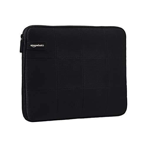 AmazonBasics - Urbane Laptop-Hülle, für Laptops bis 29,46 cm - schwarz -