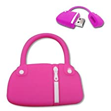 YooUSB 4GB Novelty Cute Cartoon Pink Hand Bag USB Flash Key Pen Drive Memory Stick Gift UK [PC]
