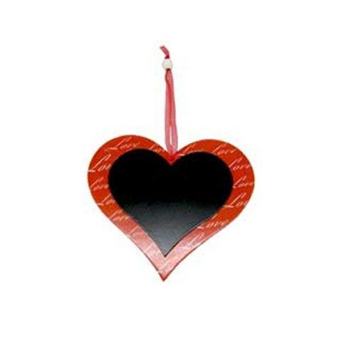 Apac De Saint Valentin Cœur Love Tableau Noir Cintre 14 cm x 19 cm