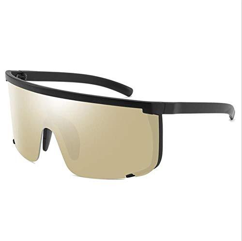 Pkfinrd Polarisierte Sport-Sonnenbrille 100% UV-Schutz TR90 Strapazierfähiger Rahmen Geeignet für Herren Outdoor-Sportarten Angeln Ski Fahren Golf Laufen Radfahren Camping@C4