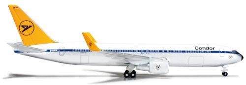 Daron Herpa Condor 767-300 RETROJET moulé sous Pression Aircraft 1 : 500 Échelle