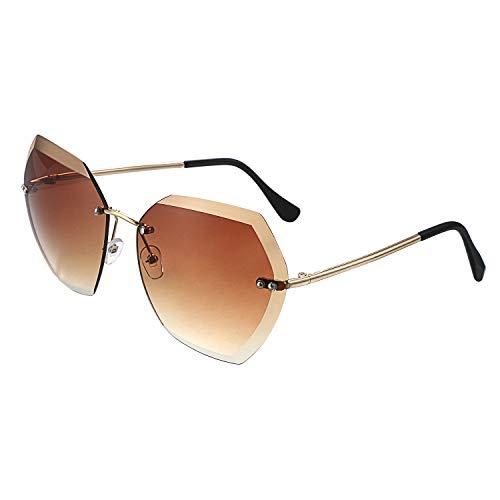 Aroncent Damen Outdoor Sonnenbrille polarisiert UV 400,Farbe wählbar braun