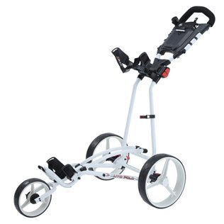 Big Max Ti 1000 Autofold+ Golf Trolley, Unisex - Erwachsene, Bigmax Ti 1000 Autofold +, weiß