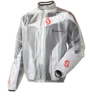Scott Rain MX Motorrad / Fahrrad Regenjacke klar 2015: Größe: XXXL (60)