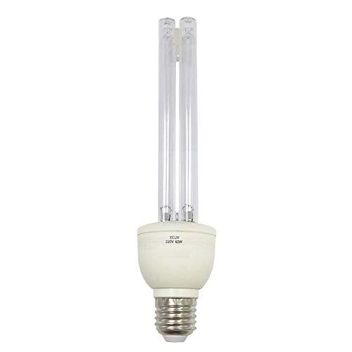 YZZR E27 UVC Ultravioleta UV Luz Tubo Bombilla 30W Lámpara de desinfección Ozono Esterilización Ácaros...