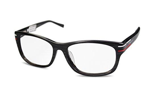 Preisvergleich Produktbild TAG Heuer Unisex Kunststoff Brille TH0534 col. 003 schwarz grau