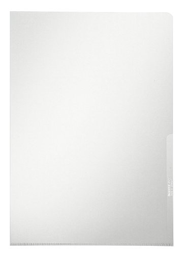 Leitz 41000003 - Ordner (transparent, PVC, A4, Sheet)
