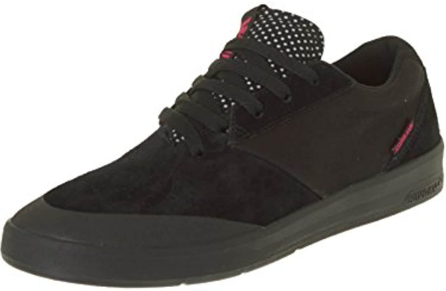 Supra Shifter Lucien Clarke Negro Canvas Shoe, Hombre, Negro, 11 UK  -