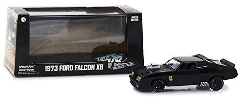 Greenlight Voiture Mad Max Ford Falcon XB GT Coupé V8 Interceptors 1973 en Métal au 143