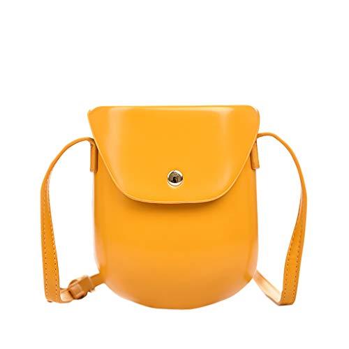 Mitlfuny handbemalte Ledertasche, Schultertasche, Geschenk, Handgefertigte Tasche,Einfache kleine quadratische Allzweck-Umhängetasche für Frauen