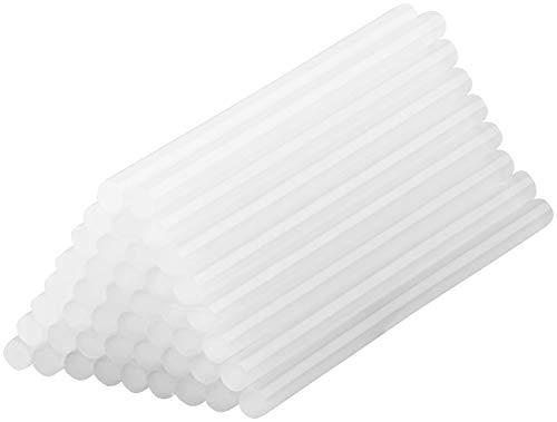 AGT Heißkleber: 50 Klebesticks für Heißklebepistolen, 11 x 200 mm, weiß (Heiß-Klebestifte)
