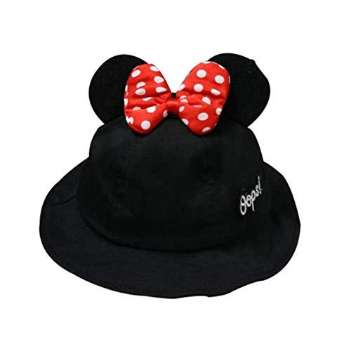 t Mickey Ohr Hüte Kinder Caps Karikatur-Hut-Breiter Rand-Strand-Hut Für Baby-Jungen-Mädchen ()