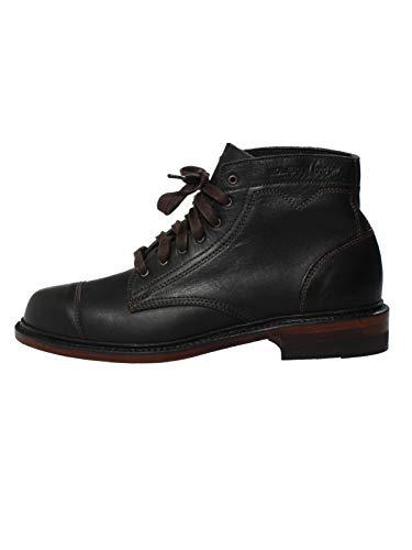 Wolverine Herren Schuhe 1000 Mile Leder-Stiefel Boots Krause schwarz braun, Farbe:Schwarz, Größe:EUR 42 (Winter Boot Made In Usa)