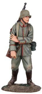 W Britain WWI Great War Collection 23080 - 1916-18 German Infantry Walking Wounded No.1 1/30 Scale Hand Painted Metal Figure Compatible with Thomas Gunn Frontline King and Country Toy Soldiers
