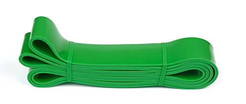 CKB-LTD-Fitness-Resistance-Bands-GREEN-45-cm-9-55-kg-SINGLE-BAND-For-Assisted-Pull-Up-Stretch-Strong-Gym-Elastic-Calisthenics-Gymnastics-Loop-Powerlifting-Workout-Ideal-for-Men-Women-Exercise