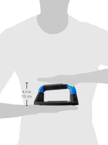 Nivia Plastic Push-Up Bar, 4-inch (Blue)