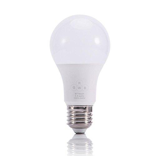 Farbe WiFi Smart LED-Lampe, dimmbare Lichter, Smartphone APP APP Control (Zwei Modelle zur Auswahl, Bluetooth und WLAN) -