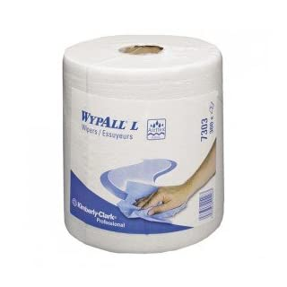 WYPALL* L20 Extra Wiper Centrefeed 7303 - 6 rolls x 300 white, 2 ply sheets