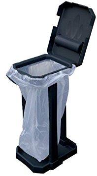 Mp essentials - struttura ecologica porta-sacco della spazzatura, da interni ed esterni, con sacchetti inclusi