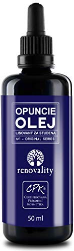 Exclusive! 100% BIO Cold Pressed Opuntia Cactus Oil 50ml Made in Czech Republic / Exklusiv! 100% BIO Kaltgepresstes Opuntia Kaktusöl 50ml Hergestellt in der Tschechischen Republik