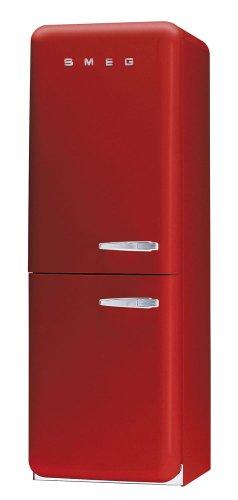 Smeg FAB32RS7 Kühl-Gefrier-Kombi / A+ / 179 cm Höhe / 292 kWh/Jahr / 205 L Kühlteil / 103 L Gefrierteil / rot, linksanschlag