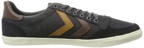 hummel  HUMMEL SLIMMER STADIL OILED LW,  Sneaker unisex adulto Grigio (Grau (CASTLEROCK 0521))