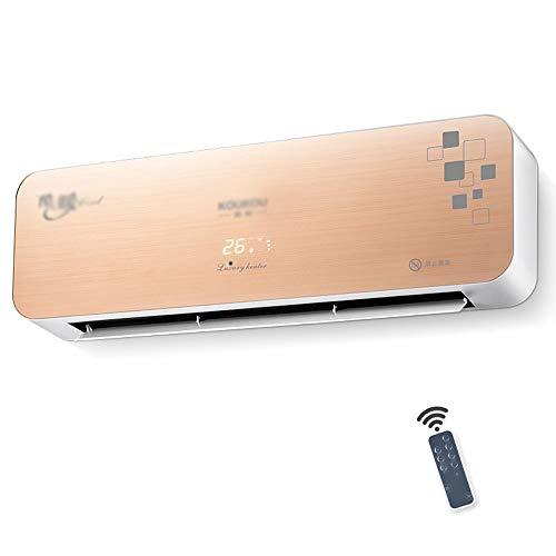 WLH-calefactores electricos Ventilador de calefacción/Aire Acondicionado de calefacción para Pared/Control Remoto a...