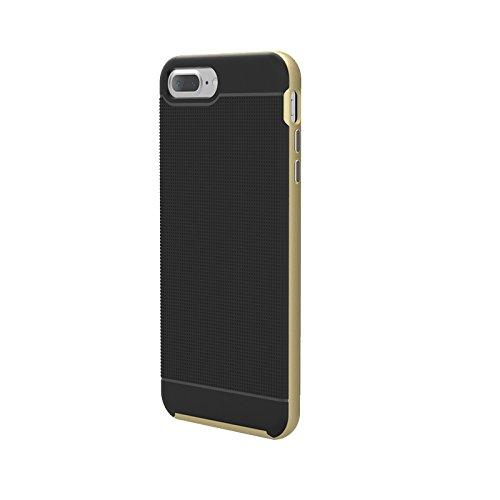 Für iPhone 7 Plus Trennbare Bumblebee TPU + PC Kombi-Gehäuse DEXING ( Color : Silver ) Gold
