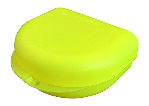 Caja pequeña para ortodoncia, frenillos, aparato dental, protector bucal