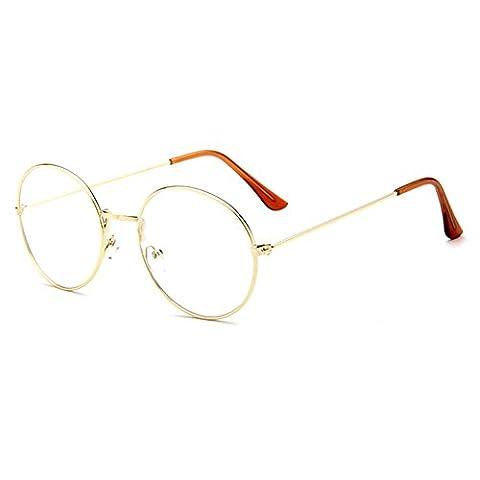 Juleya Clear Lens Lunettes Lunettes de lecture Decor Fashion Geek / Nerd Retro Eyewear for Men Women
