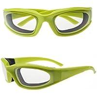 HaoYiShang Profesional Gafas de cebolla duradero para uso de cocina y hogar, libre de desgaste gafas de cebolla con luz de colores y peso ligero Evita Ojos de Picor cuando Cortar