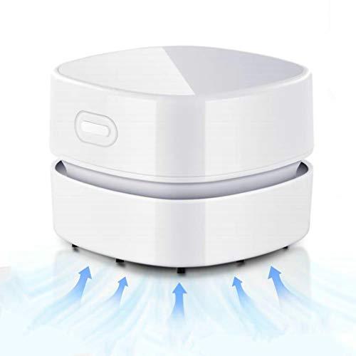 GuDoQi Aspiradora de Mesa, Mini Limpiador de Polvo, Inalámbrico y USB Recargable, Tiempo de Ejecución...